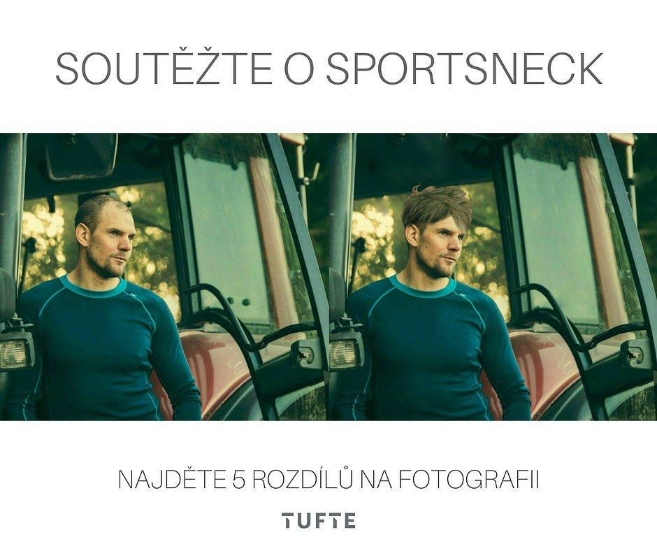 Vyhlašujeme soutěž o Sportsneck!