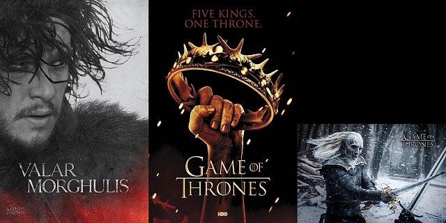 Soutěž o 3 plakáty seriálu Hra o trůny