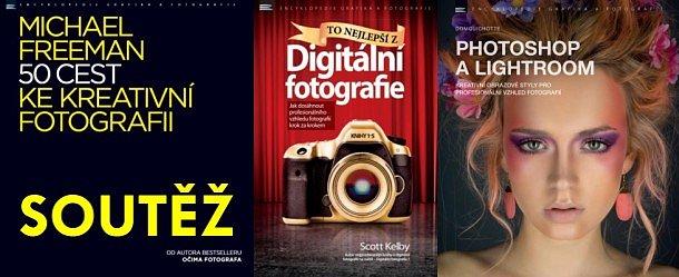 SOUTĚŽ o tři foto knihy z nakladatelství Zoner Press