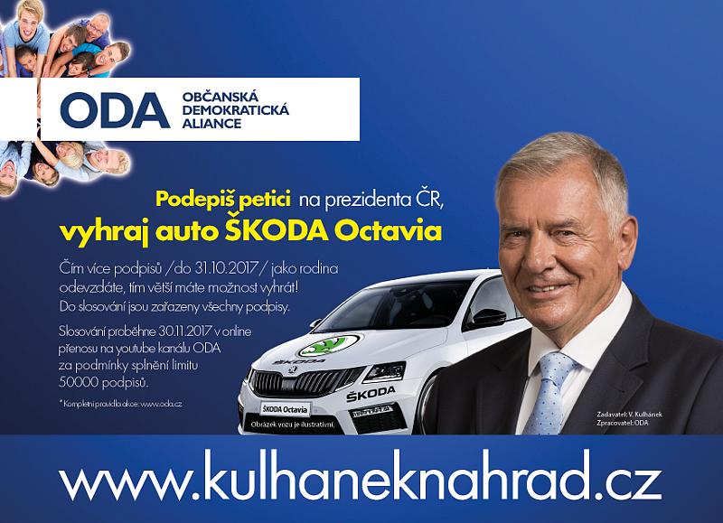 Vyhrajte automobil Škoda.