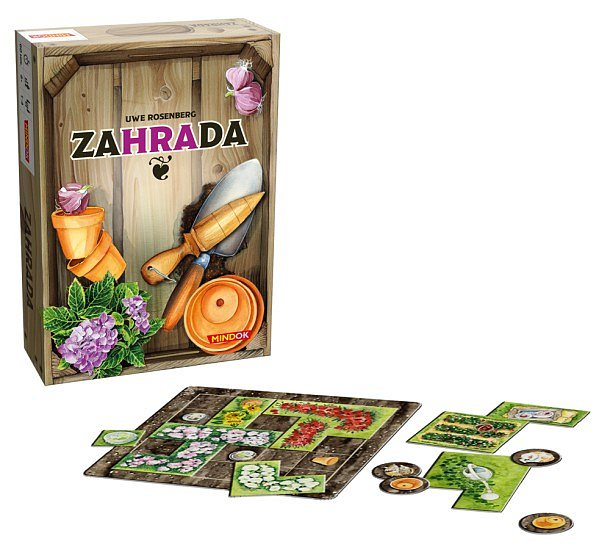 SOUTĚŽ o rodinnou hru ZAHRADA
