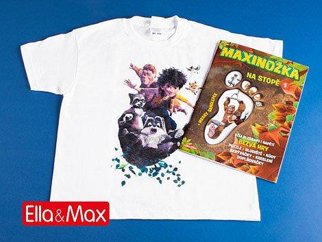 Soutěž o 3x pohádkový balíček s filmem Maxinožka