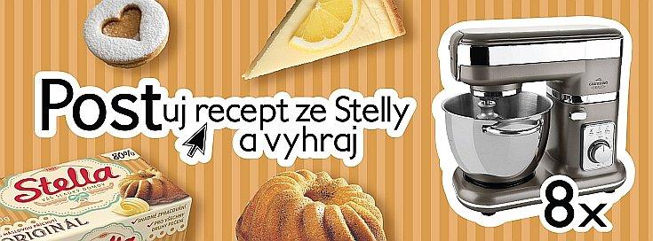 Postuj recept ze Stelly a vyhraj 8x kuchyňský robot Eta.