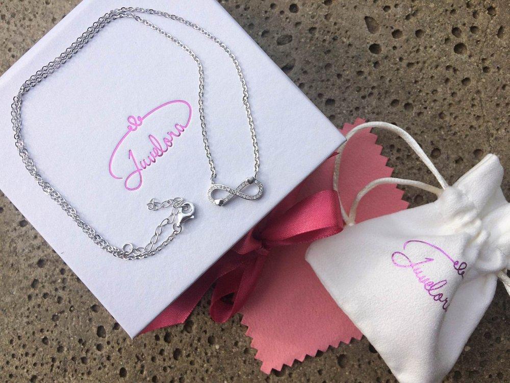 Listopadová soutěž o krásný stříbrný náhrdelník nekonečno