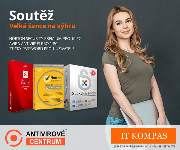 Antivir Norton Security Premium pro 10 PC a další ceny