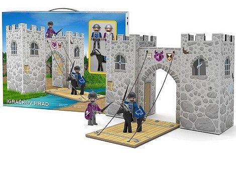 Soutěž o 3x Igráčkův hrad + Igráček rytíř, koník
