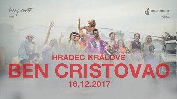 SOUTĚŽ o vstupenky na BENA CRISTOVAO do Hradce Králové