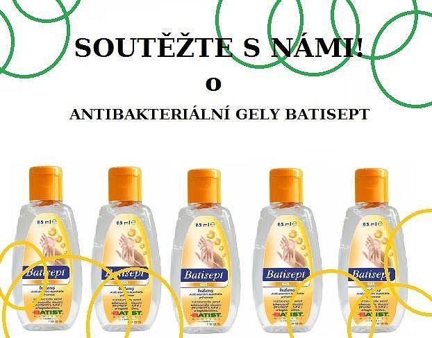 Soutěž o antibatkeriální gely Batisept