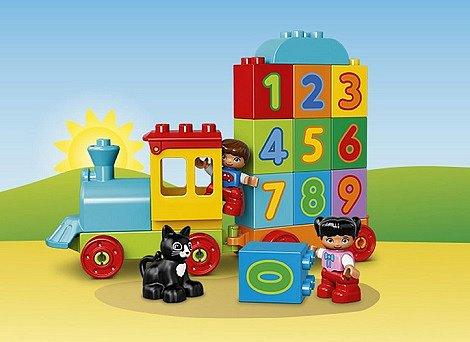 Soutěž o 3x stavebnici LEGO® DUPLO® Vláček s čísly