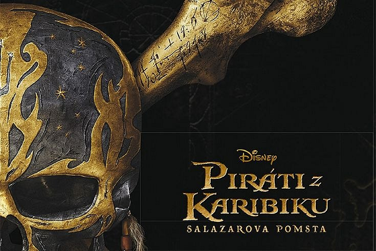 Vyhrajte dvě knihy Piráti z Karibiku: Salazarova pomsta
