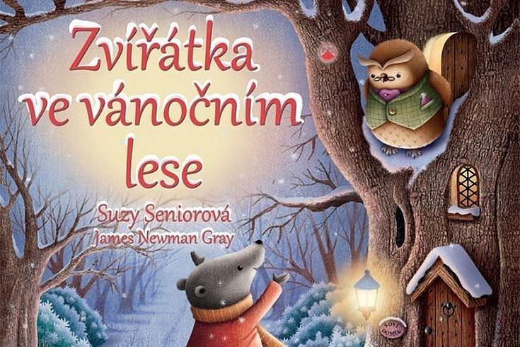 Vyhrajte pět knih pro děti Zvířátka ve vánočním lese