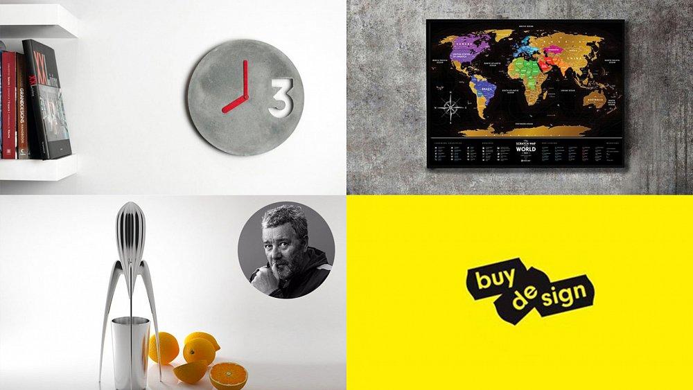 Vyhrajte betonové hodiny, stírací mapu světa, nebo odšťavňovač ve tvaru vesmírné rakety