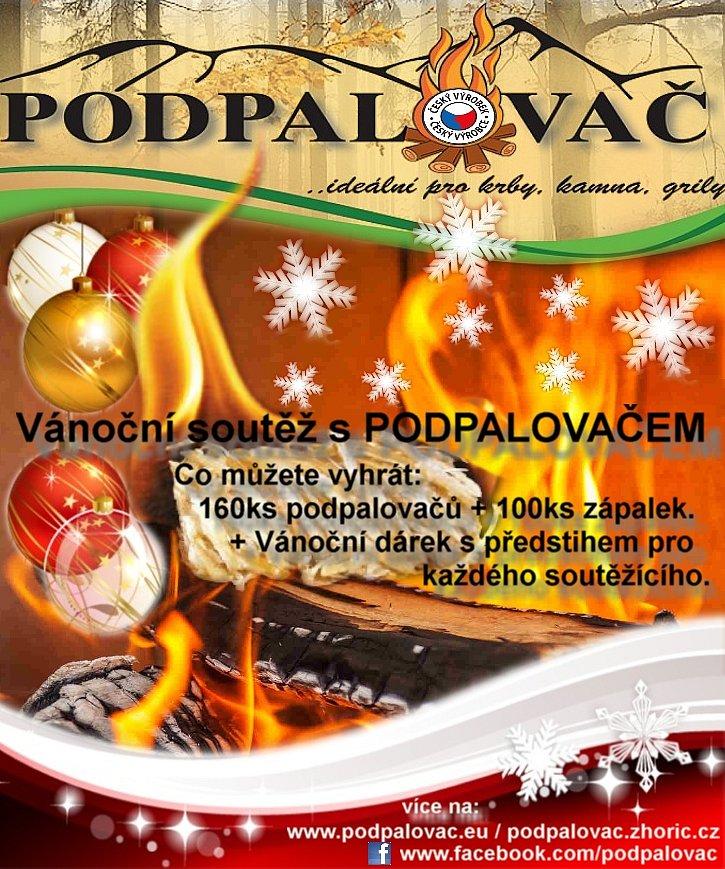 Vánoční soutěž s PODPALOVAČEM