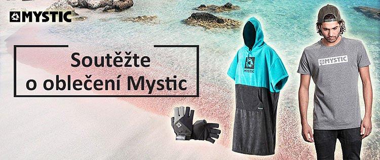 Soutěž o oblečení na vodní sporty Mystic