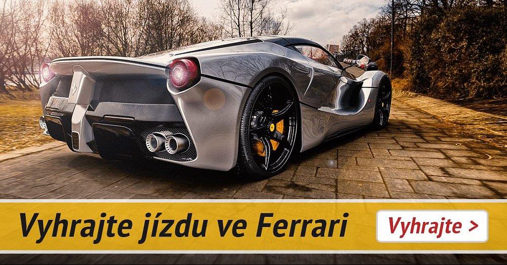Kniha o jízdu ve Ferrari