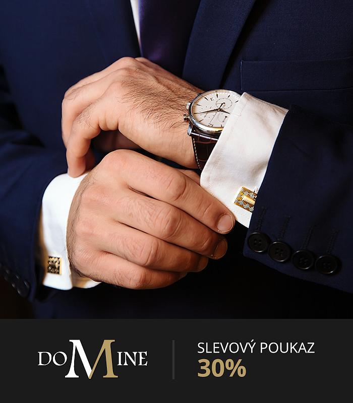 Sleva 30% na elegantní módu pro muže