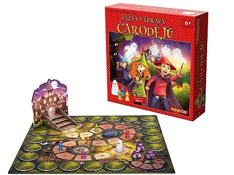 Soutěž o 3x stolní hru Tajná výprava čarodějů
