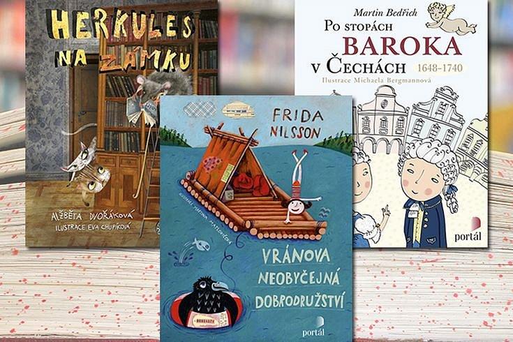 Vyhrajte tři dětské knihy dle výběru