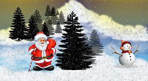 Zimní a vánoční / o 400 Kč