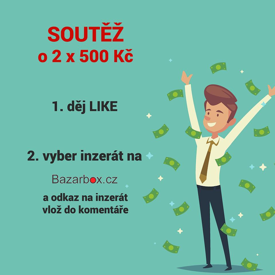 Soutěž o 2 x 500 Kč - BazarBox.cz