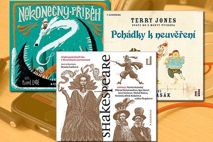 Vyhrajte tři dětské audioknihy dle vlastního výběru