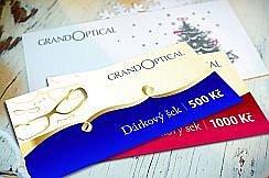 Vyhrajte poukazy na nákup brýlí do GrandOptical!