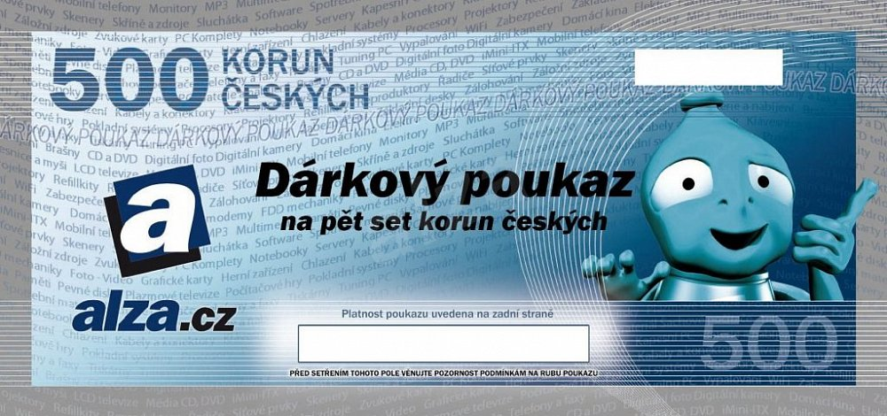 Soutěž o poukázku Alza.cz v hodnotě 500,- Kč