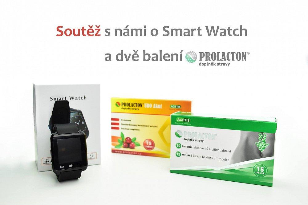 Soutěž s Prolactonem o chytré hodinky
