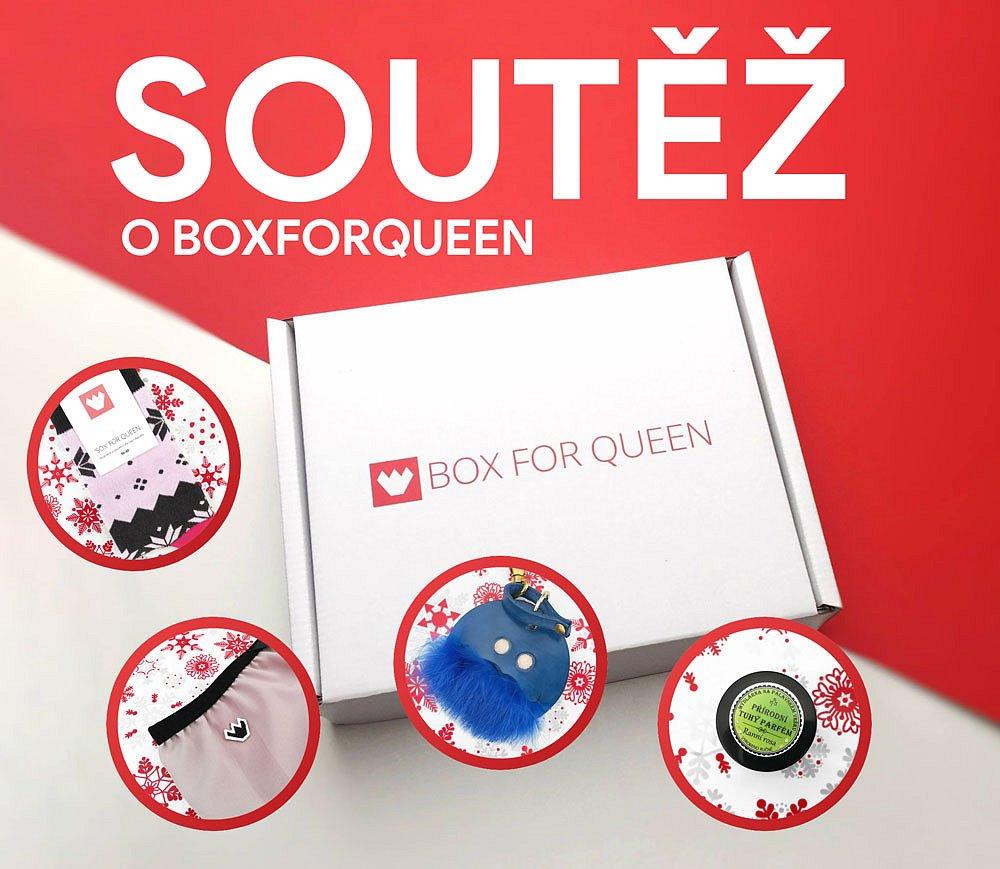 Soutěž o dámský box BoxforQueen