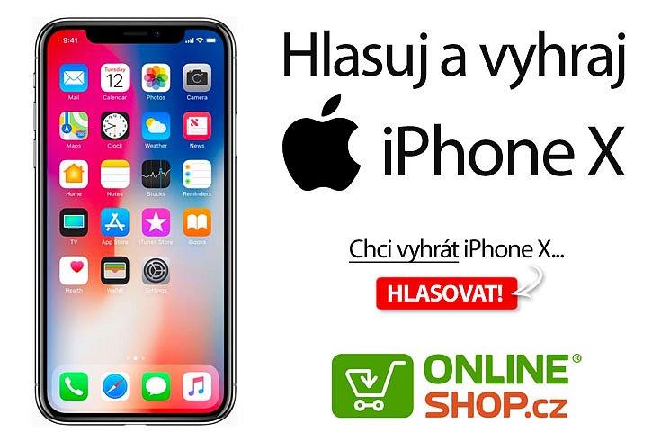 Soutěž o nejnovější iPhone X