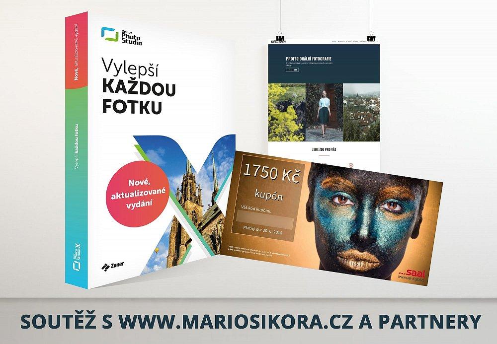 Velká lednová soutěž o Roční předplatné softwaru Zoner Photo Studio X, kupóny na tisk a fotoslužby