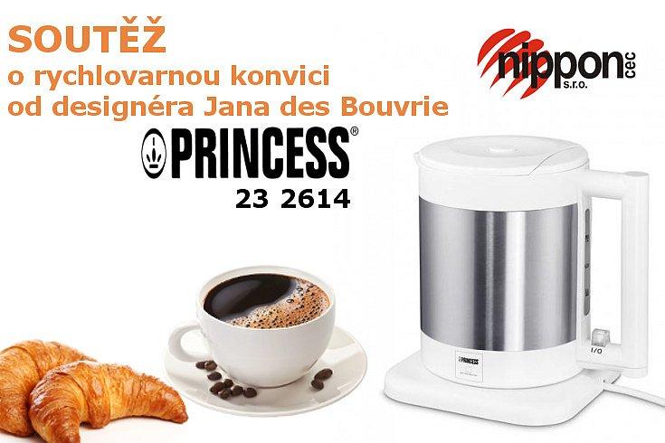 Soutěž o rychlovarnou konvici Princess 23 2614 - 1,7 litru