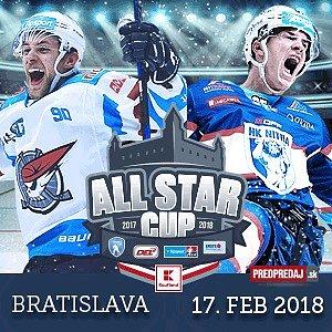 SÚŤAŽ O VSTUPENKY NA ALL STARS CUP 2018