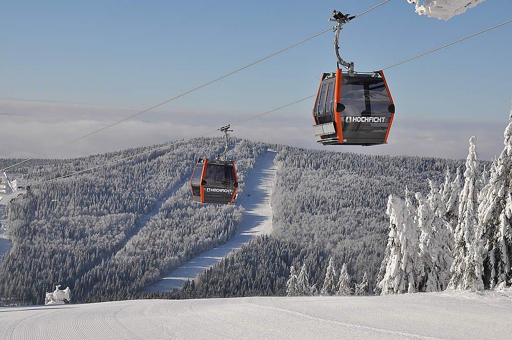 Soutěž o prodloužený víkendový pobyt pro celou rodinu s lyžováním na Hochfichtu