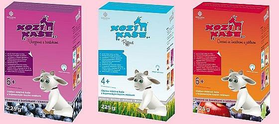 Vyhrajte balíček Kozí kaše pro zdraví celé rodiny