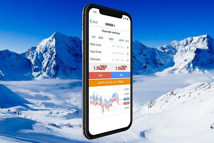 Zimní investiční soutěž o iPhone X