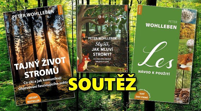 SOUTĚŽ o tři knihy pro milovníky lesa