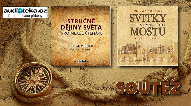 SOUTĚŽ o dvě historické audioknihy