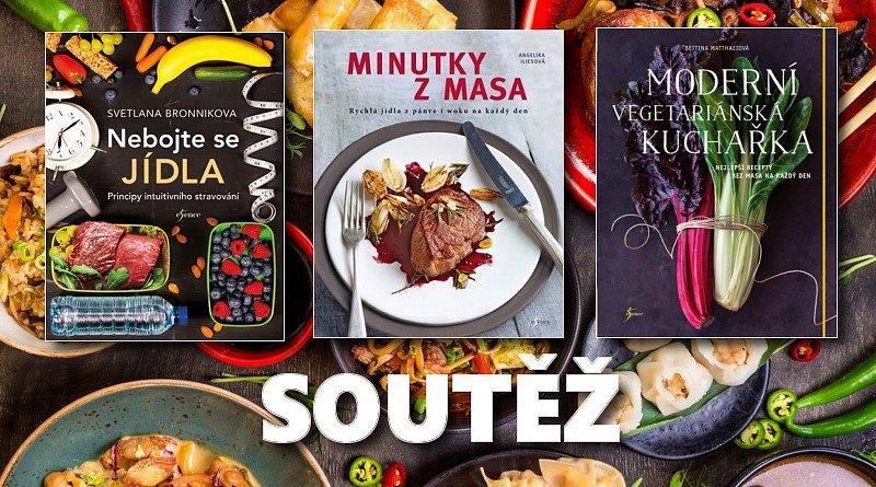 SOUTĚŽ o tři knihy o dobrém jídle