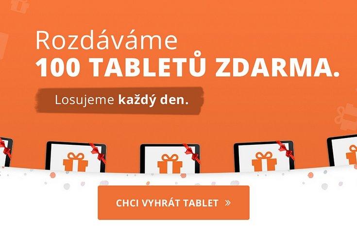 Vyhraj 100 tabletů