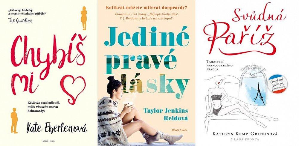 Valentýnská soutěž o balíček knih pro ženy