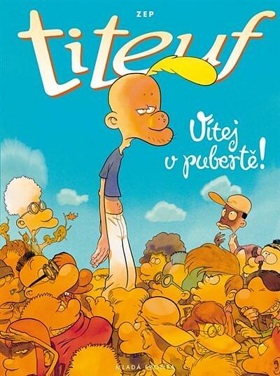 Soutěž o knihu Titeuf - Vítej v pubertě!