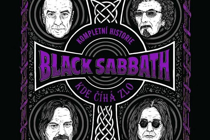 Vyhrajte dvě knihy Kompletní historie Black Sabbath – Kde číhá zlo