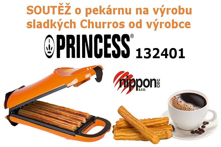 Soutěž o přístroj na pečení Churros Princess 13 2401