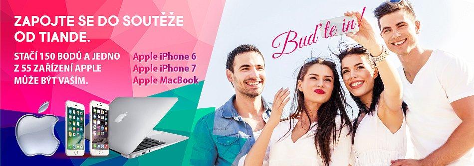TianDe vyhlašuje soutěž o 55 moderních zařízení Apple! Zapojte se, vyhrávejte, buďte in!