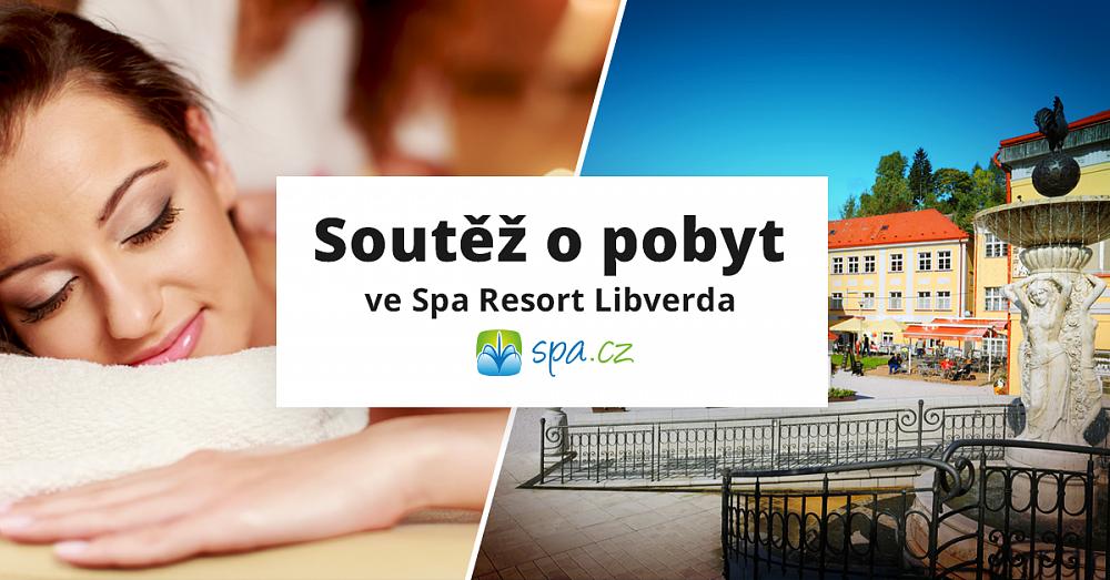 Soutěž o pobyt pro 2 v Lázně Libverda se Spa.cz