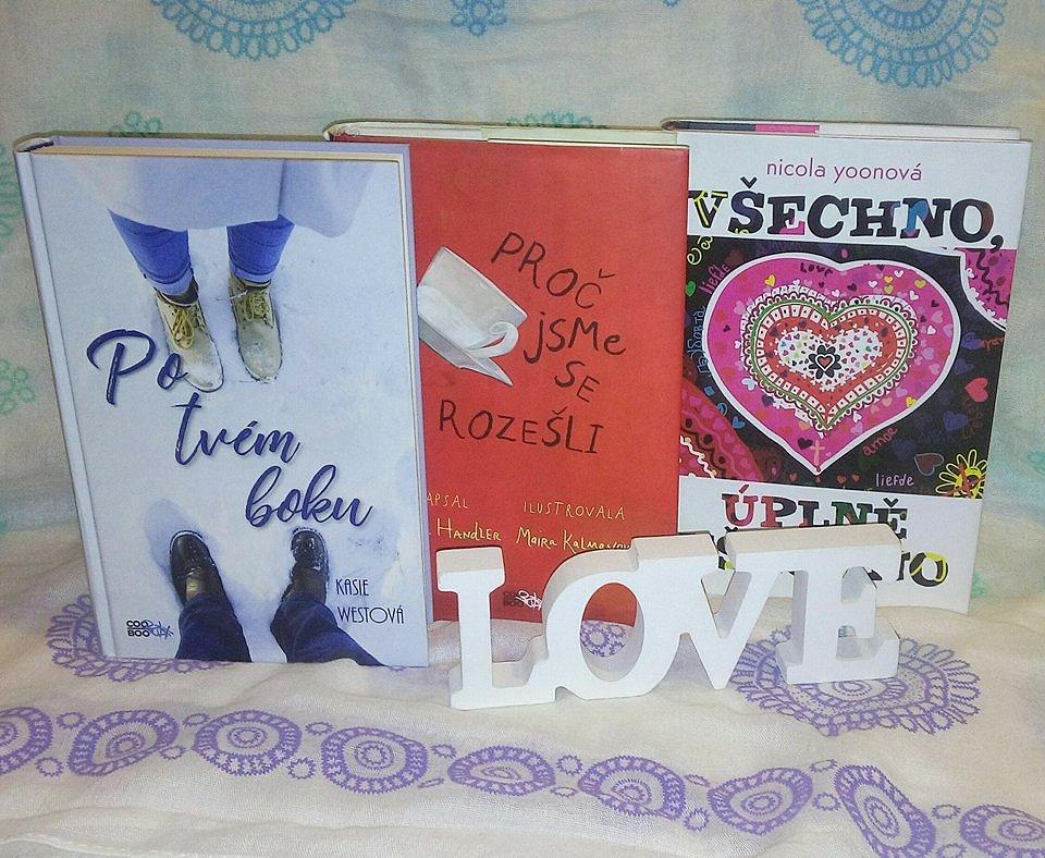 Soutěž o 3 romantické knížky!