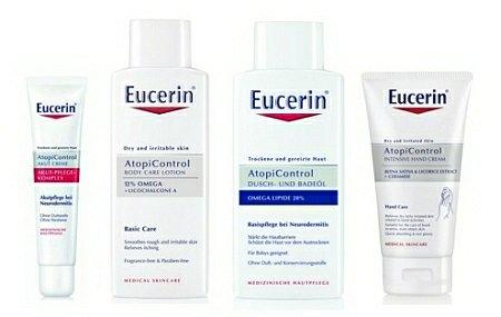 Soutěž o deset balíčků přípravků Eucerin řady AtopiControl na atopický ekzém