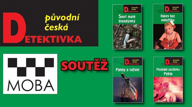 SOUTĚŽ o čtyři české detektivky