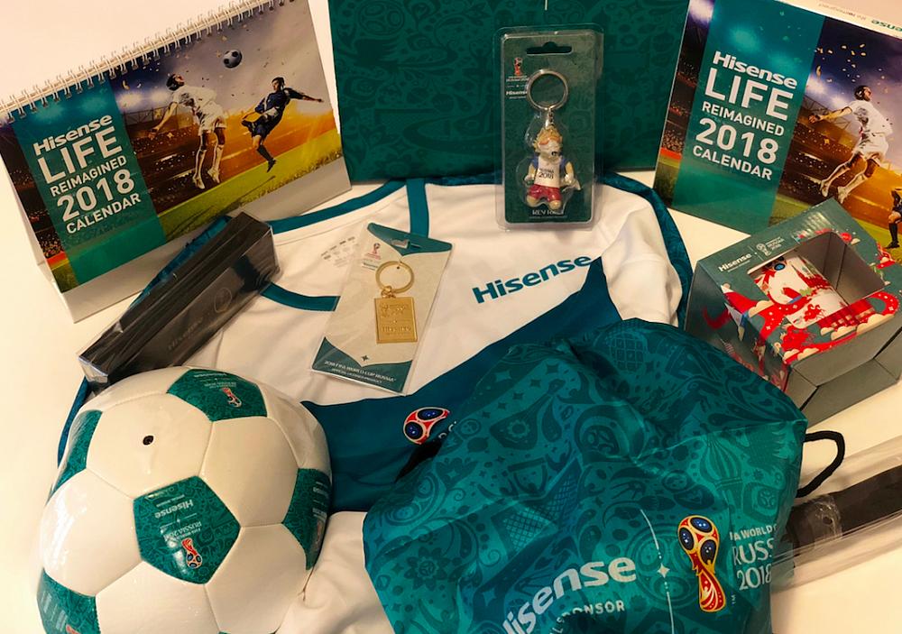 Hisense - Fotbalový balíček